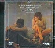 HEINRICH VON HERZOGEHBERG / VIOLIN CONCERTO - ODYSSEUS - ULF WALLIN - DEUTCHE RADIO PHILHARMONIE - BEERMA