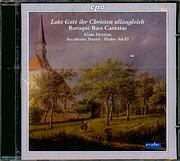 CD image BAROQUE BASS CANTATAS FROM CENTRAL GERMANY / KLAUS MERTENS BASS - BARITONE - ACCADEMIA DANIEL SHALEV