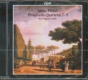 CD image PLEYEL IGNAZ / PREUBISCHE OUARTETTE 7 - 9 - PLEYEL QUARTETT KOLH