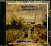 GOUVY THEODORE / SYMPHONY N 6 - SINFONIETTA OP 80 - JACQUES MERCIER - DEUTCHE RADIO PHILHARMONIE