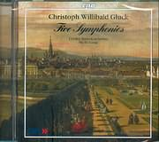CD image GLUCK CHRISTOPH WILLIBALD / FIVE SYMPHONIES - L ORFEO BAROCKORCHESTER - MICHI GAIGG