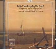 CD image MENDELSSOHN FELIX / CONCERTOS FOR TWO PIANOS 1 AND 2 - PIANO DUE GENOVA AND DIMITROV