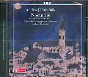 PANUFNIK ANDRZEJ / SYMPHONIC WORKS VOL 1 - KUKASZ BOROWICZ - POLISH RADIO SYMPHONY ORCHESTRA