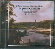 CD image KUHNAU JOHANN - ALBRICI VINCENZO / CANTATAS AND ARIAS FOR SOPRANO - BARBARA CHRISTINA STEUDE SOPRANO