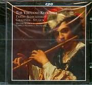 CD image THE VIRTUOSO RECORDER / FASCH - SCHICKHARDT - GRAUPNER - STULICK / MICHAEL SCHNEIDER