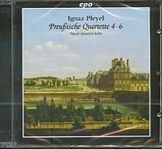 CD image PLEYEL IGNAZ / PREUBISCHE QUARTETTE 4 - 6 - PLEYEL QUARTETT KOLN