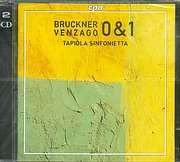 CD image BRUCKNER / VENZAGO 0 AND 1 - TARIOL A SINFONIETTA - (2CD)