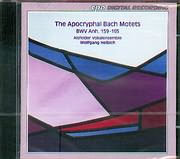 CD image BACH J.S (ATTRIBUTED) / THE APOCRYPHAL BACH MOTETS BWV ANH.159 - 165 / HELBICH