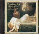 CD image BECK FRANZ IGNAZ / SYMPHONIES OP 3 N 3 - 5 SCHNEIDER