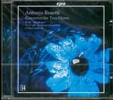 CD image ROSETTI / CONCERTOS FOR TWO HORNS / MOESUS
