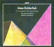 CD image BACH JOHANN CHRISTIAN / COMPLETE SYMPHONIES / HALSTEAD (5CD)