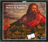 CD image KOZELUCH / MOISE IN EGITTO ORATORIO 1787 / HERMANN MAX (2CD)