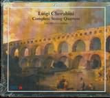 CD image CHERUBINI / COMPLETE STRING QUARTETS / HAUSMUSIK LONDON (3CD)