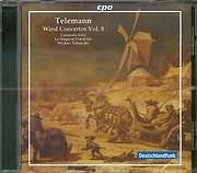 CD image TELEMANN PHILIPP GEORG / WIND CONCERTOS VOL 8 - CAMERATA KOLN - MICHAEL SCHNEIDER