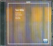 CD image YORK HOLLER / PIANO WORKS [KRISTI BECKER PI - HSIEN CHEN]