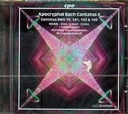 CD image BACH J.S / APOCRYPHAL CANTATAS VOL.2 BWV.142 - 141 - 15 - 160 / HELBICH