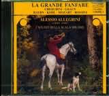 CD image LA GRANDE FANFARE / WORKS FOR HORN / ALLEGRINI