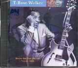 CD image T - BONE WALKER / BACK ON THE SCENE TEXAS 1966