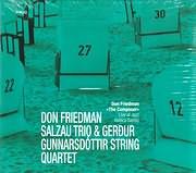 CD image for DON FRIEDMAN SALZAU TRIO - GERDUR GUNNARSDOTTIR STRING QUARTET / LIVE AT JAZZ BALTICA SALZAU