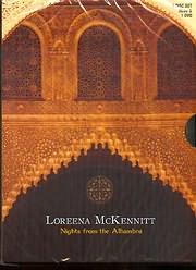 CD + DVD image LOREENA MCKENNITT / NIGHTS FROM THE ALHAMBRA (2 CD + 1 DVD)