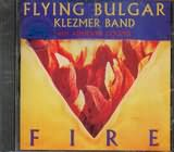 CD image FLYING BULGAR KLEZMER BAND WITH ADRIENNE COOPER / FIRE