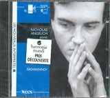 CD image RACHMANINOV / ETUDES - TABLEAUX OP.33 AND 39 / ANGELICH
