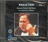 CD image PAKISTAN VOL.3 / NUSRAT FATEH ALI KHAN (LIVE PARIS)