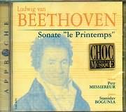 CD image BEETHOVEN / VIOLIN SONATAS OP.24 - OP.30 NOS.1 AND 2 / MESSIEREUR - BOGUNIA