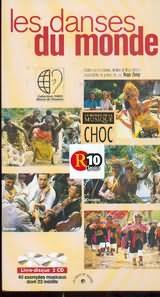 CD image LES DANSES DU MONDE / EXEMPLES MUSICAUX TEXTESS ET ILLUSTRATIONS RASSEMBLES ET PRESENTES PAR HUGO ZEMP