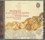CD image VIOTTI GIAY CASPARINI OTTANI SOMIS / MUSIQUES A LA COUR DE SAVOIE [VIOLIN COMENTALE GOEBEL]