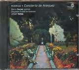 CD image RODRIGO / CONCIERTO DE ARANJUEZ / SOCIAS - PONS