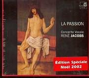 CD image LA PASSION / CHARPENTIER - BUXTEHUDE - SCHUTZ / JACOBS (3CD)