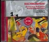 CD image RACHMANINOV / CEUVRES POUR DEUX PIANOS ET PIANO A QUATRE MAINS