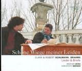 CD image CLARA AND ROBERT SCHUMANN / BRAHMS / LIEDER AND BRIEFE GURA BERNER [SCHONE WIEGE MEINER LIEDEN]