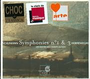 SCHUMANN / SYMPHONIES N 1 AND 3 - PHILIPPE HERREWEGHE - ORCHESTRE DES CHAMPS - ELYSEES