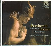 CD image BEETHOVEN / GEISTER - TRIO HUMMEL - PIANO TRIO - STAIER / SEPEC / QUEYRAS