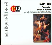 CD image RAMEAU / PYGMALION - NELEE AND MYRTHIS - LES ARTS FLORISSANTS - WILLIAM CHRISTIE