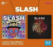 CD image for SLASH / LIVING THE DREAM + APOCALYPTIC LOVE (2CD)
