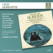 CD image for LALO / LE ROI D YS (ANDRE CLUYTENS) (2CD)