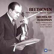 CD Image for BEETHOVEN / VIOLIN CONCERTO (BRONISLAW HUBERMAN)