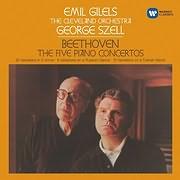 CD image BEETHOVEN / PIANO CONCERTOS NOS 1 - 5 (EMIL GILELS) (3CD)
