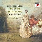 CD Image for HAYDN - W.F. BACH - C.P.E. BACH / TRIOS FOR OBOE, BASSOON AND PIANO (AZZOLINI, BOURGUE, IMANI) (2CD)