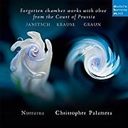 CD Image for ENSEMBLE NOTTURNA / FORGOTTEN CHAMBER WORKS WITH OBOE FROM THE COURT OF PRUSSIA