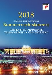CD image for VALERY GERGIEV AND WIENER PHILHARMONIKER / SUMMER NIGHT CONCERT 2018 - (DVD)