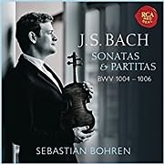 CD Image for BACH / VIOLIN SONATA AND PARTITAS, BWV 1004 - 1006 (SEBASTIAN BOHREN)
