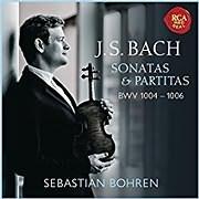 BACH / VIOLIN SONATA AND PARTITAS, BWV 1004 - 1006 (SEBASTIAN BOHREN)