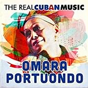 CD image for OMARA PORTUONDO / THE REAL CUBAN MUSIC (REMASTERED) (2LP) (VINYL)