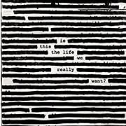 CD image for ROGER WATERS / IS THIS THE LIFE WE REALLY WANT (2LP GREEN) (VINYL)