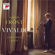 CD image for MARTIN FROST AND CONCERTO KOLN / VIVALDI