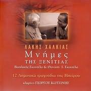 CD image LAKIS HALKIAS / 12 DIMOTIKA TIS IPEIROU - MNIMES TIS XENITIAS